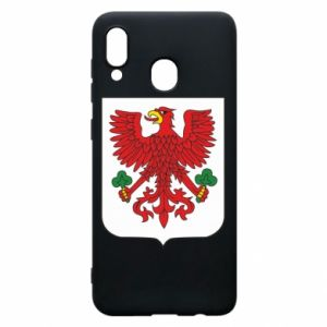 Phone case for Samsung A30 Gorzow Wielkopolski coat of arms