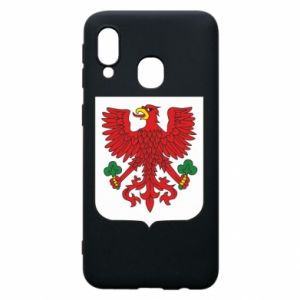 Phone case for Samsung A40 Gorzow Wielkopolski coat of arms