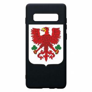 Phone case for Samsung S10+ Gorzow Wielkopolski coat of arms