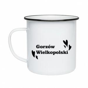 Kubek emaliowane Gorzów Wielkopolski