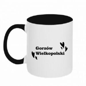 Kubek dwukolorowy Gorzów Wielkopolski