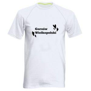 Męska koszulka sportowa Gorzów Wielkopolski