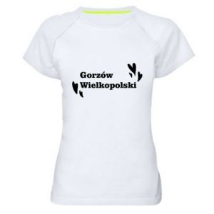 Damska koszulka sportowa Gorzów Wielkopolski