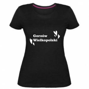 Damska premium koszulka Gorzów Wielkopolski