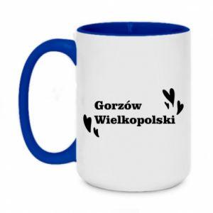 Kubek dwukolorowy 450ml Gorzów Wielkopolski