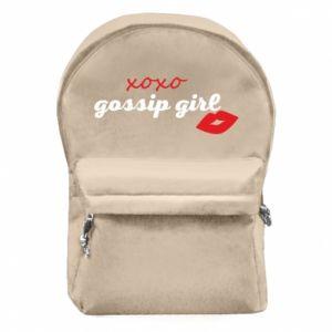 Plecak z przednią kieszenią Gossip girl