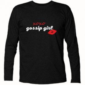 Koszulka z długim rękawem Gossip girl
