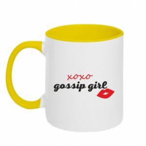 Kubek dwukolorowy Gossip girl