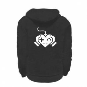 Kid's zipped hoodie Game