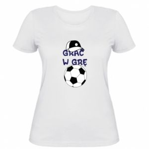 Women's t-shirt Play a game