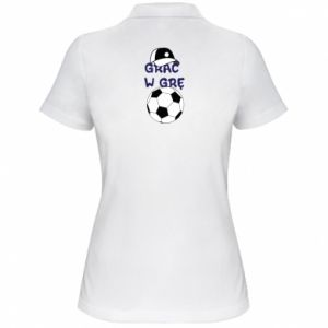 Women's Polo shirt Play a game