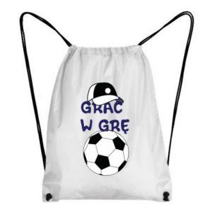 Plecak-worek Grać w grę