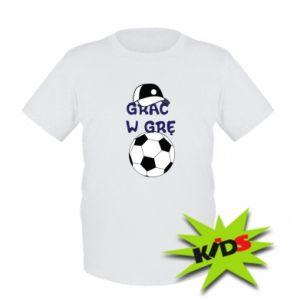 Kids T-shirt Play a game