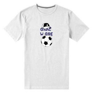 Men's premium t-shirt Play a game