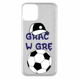Phone case for iPhone 11 Play a game