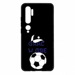 Etui na Xiaomi Mi Note 10 Grać w grę