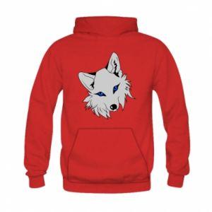 Bluza z kapturem dziecięca Gray fox