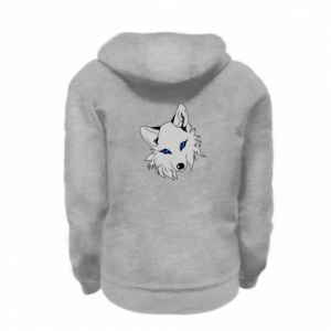 Bluza na zamek dziecięca Gray fox