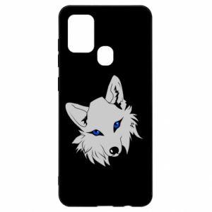 Etui na Samsung A21s Gray fox