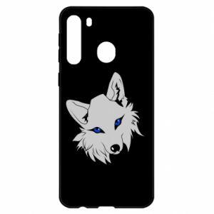 Etui na Samsung A21 Gray fox