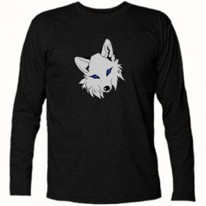 Koszulka z długim rękawem Gray fox - PrintSalon