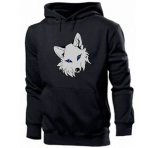 Męska bluza z kapturem Gray fox