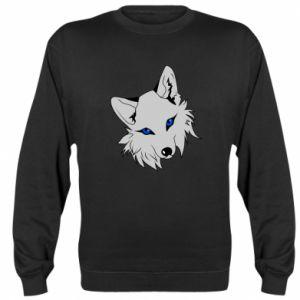 Bluza (raglan) Gray fox - PrintSalon