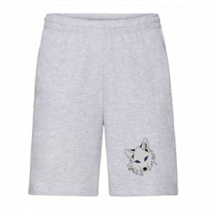 Męskie szorty Gray fox - PrintSalon