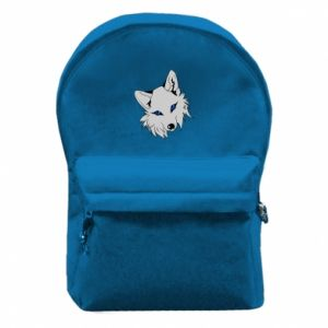 Backpack with front pocket Gray fox