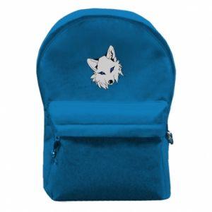 Plecak z przednią kieszenią Gray fox - PrintSalon