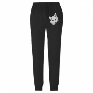 Męskie spodnie lekkie Gray fox - PrintSalon