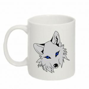 Kubek 330ml Gray fox - PrintSalon