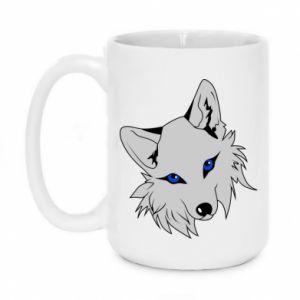 Kubek 450ml Gray fox - PrintSalon