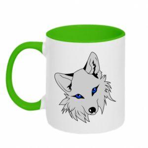 Kubek dwukolorowy Gray fox - PrintSalon