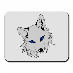 Podkładka pod mysz Gray fox - PrintSalon