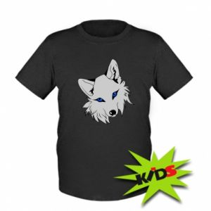 Dziecięcy T-shirt Gray fox - PrintSalon