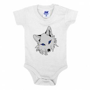 Body dla dzieci Gray fox - PrintSalon