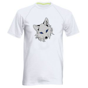 Męska koszulka sportowa Gray fox - PrintSalon