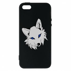 Phone case for iPhone 5/5S/SE Gray fox