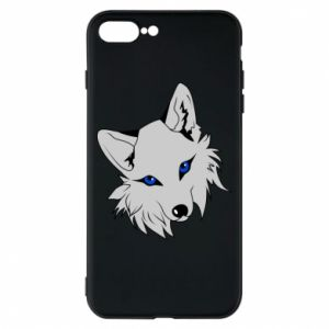 Phone case for iPhone 7 Plus Gray fox