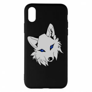 Phone case for iPhone X/Xs Gray fox