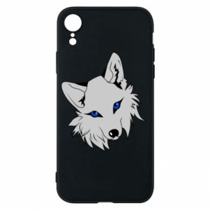 Phone case for iPhone XR Gray fox