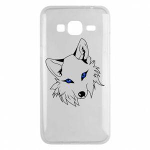 Phone case for Samsung J3 2016 Gray fox