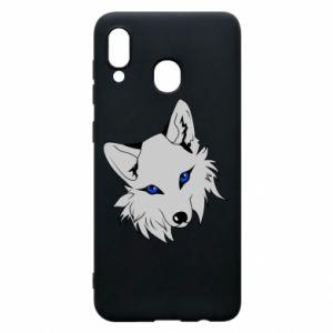 Phone case for Samsung A20 Gray fox