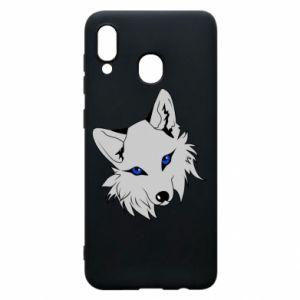 Phone case for Samsung A30 Gray fox