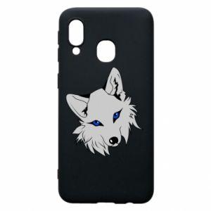 Phone case for Samsung A40 Gray fox
