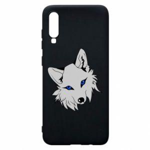 Phone case for Samsung A70 Gray fox