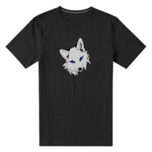 Męska premium koszulka Gray fox - PrintSalon