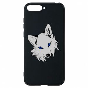 Phone case for Huawei Y6 2018 Gray fox