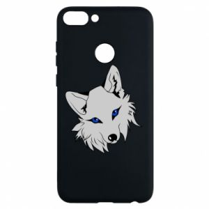 Phone case for Huawei P Smart Gray fox